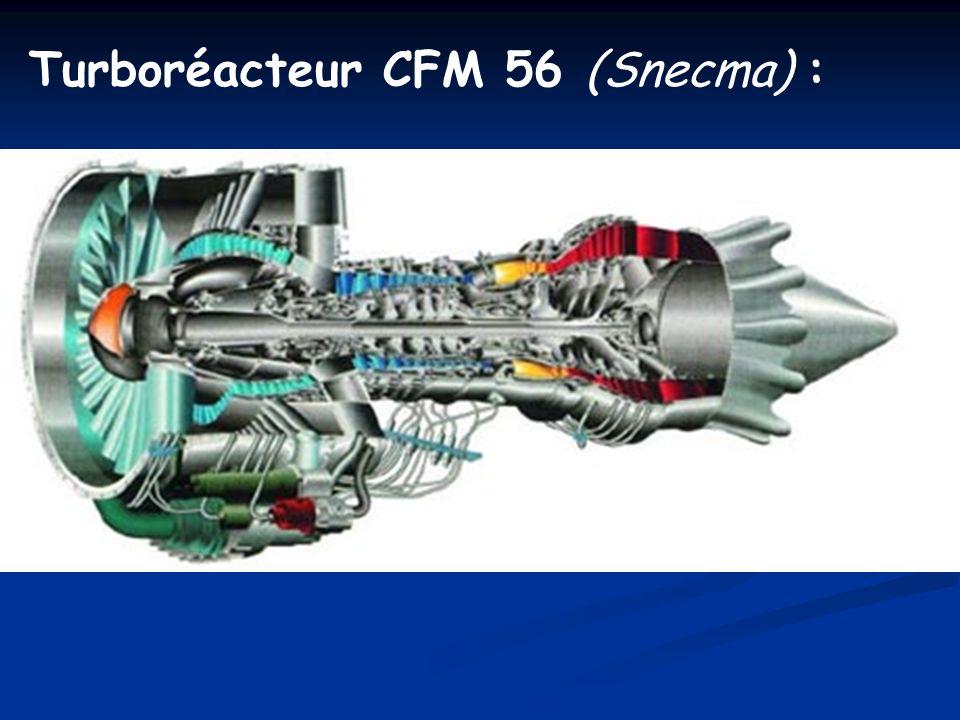 Turboréacteur CFM 56 (Snecma) :