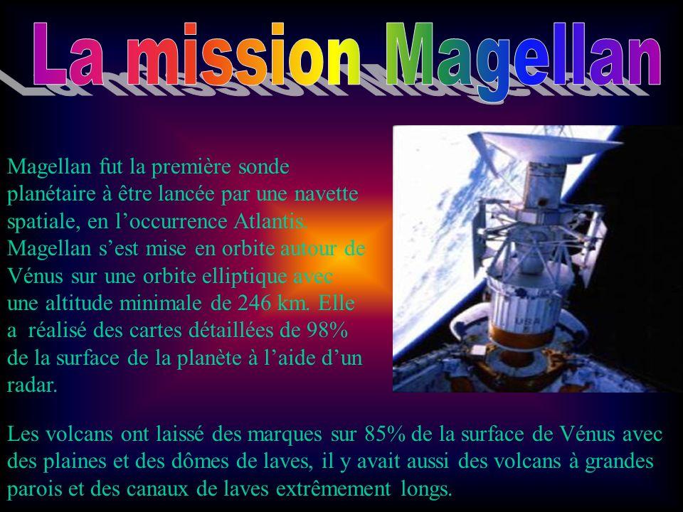 La mission Magellan