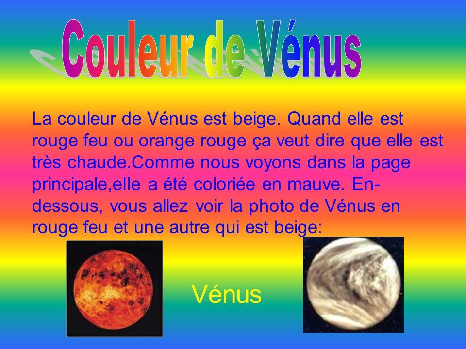 Couleur de Vénus