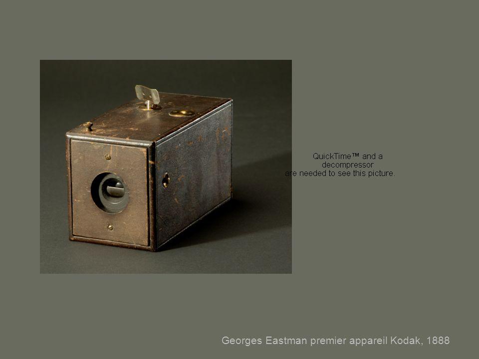 Georges Eastman premier appareil Kodak, 1888