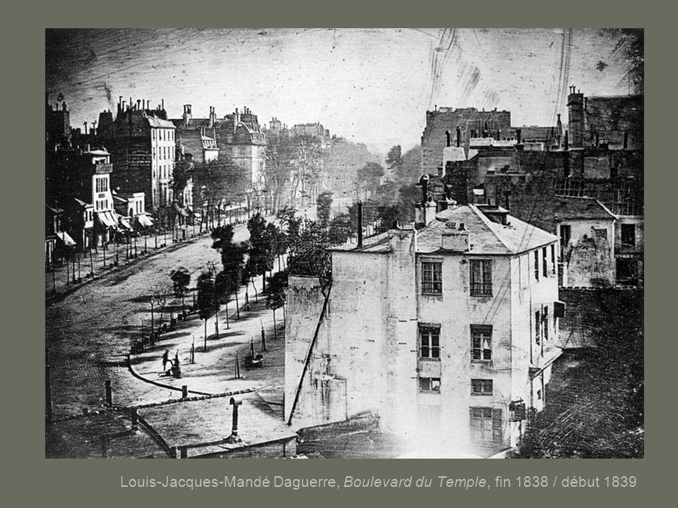 Louis-Jacques-Mandé Daguerre, Boulevard du Temple, fin 1838 / début 1839