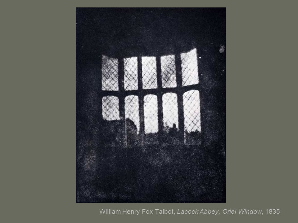 William Henry Fox Talbot, Lacock Abbey, Oriel Window, 1835