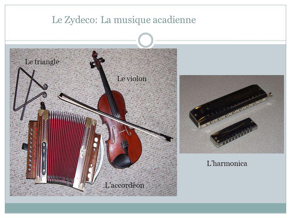 Le Zydeco: La musique acadienne