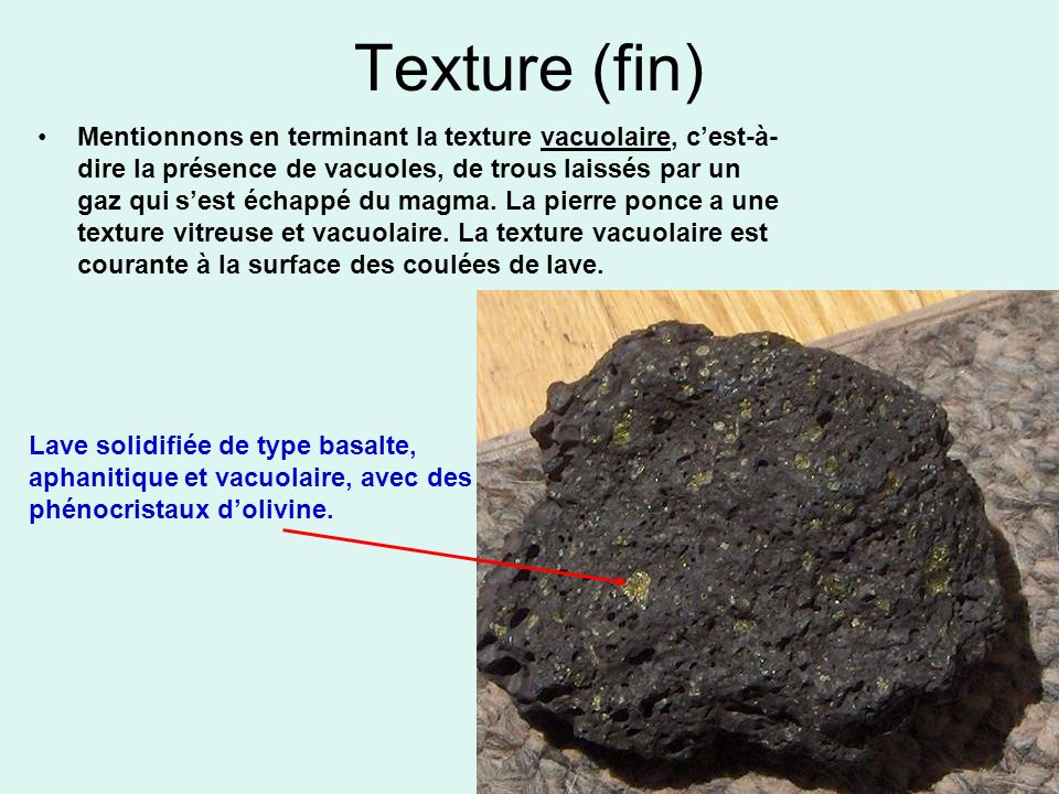 Texture (fin)