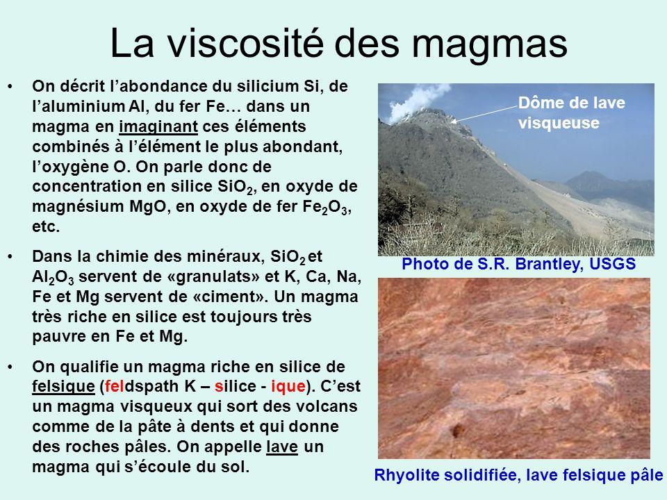 La viscosité des magmas