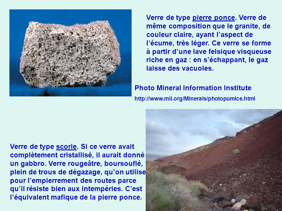 Photo Mineral Information Institute