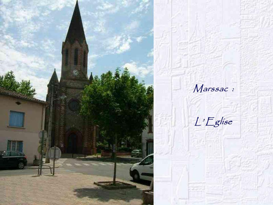 Marssac : L' Eglise