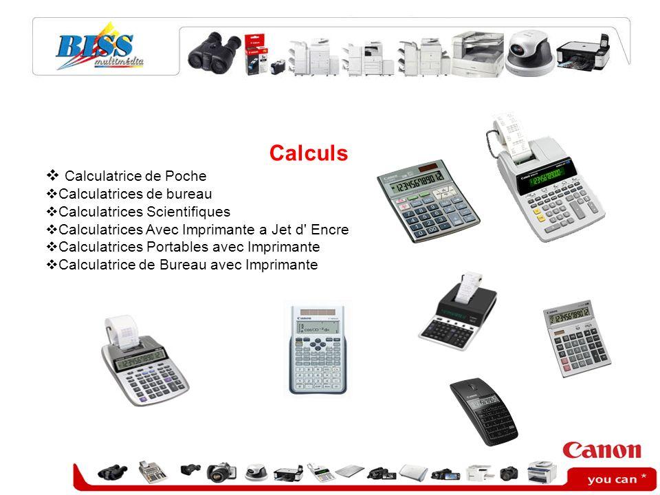 Calculs Calculatrice de Poche Calculatrices de bureau