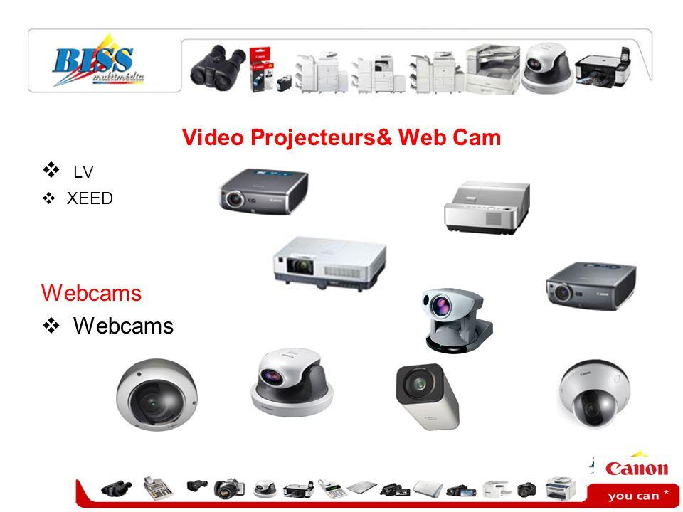 Video Projecteurs& Web Cam