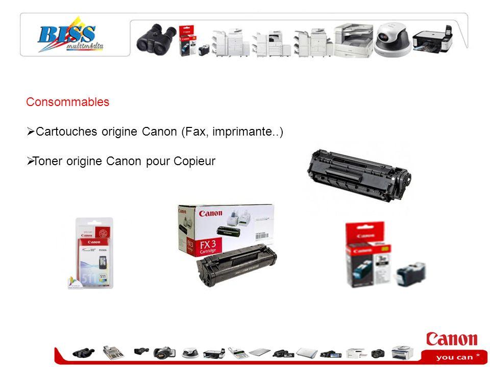 Consommables Cartouches origine Canon (Fax, imprimante..) Toner origine Canon pour Copieur