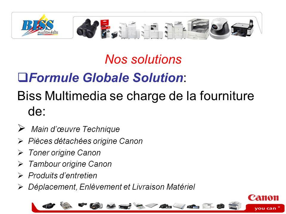 Formule Globale Solution: