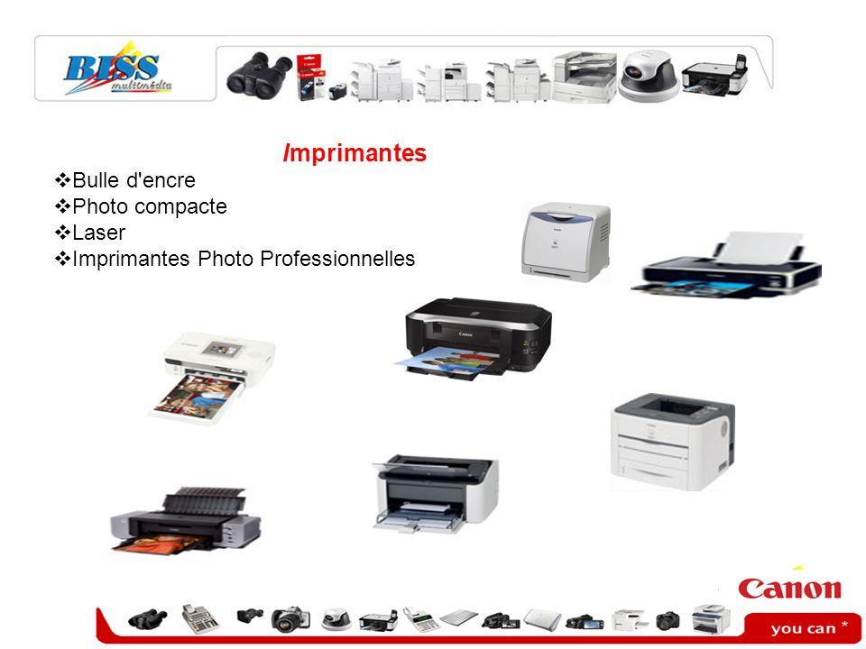 Imprimantes Bulle d encre Photo compacte Laser