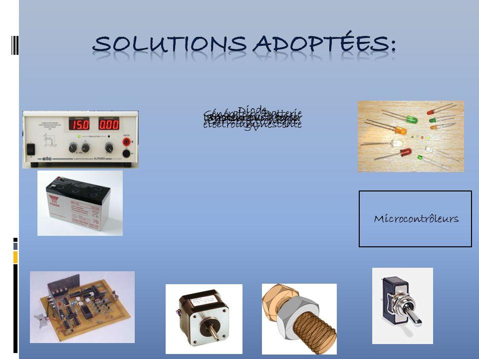 Diode électroluminescente Générateur/Batterie 5V