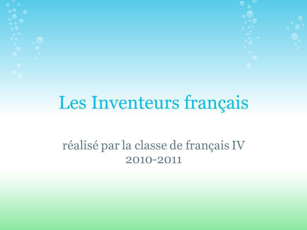 Les Inventeurs français