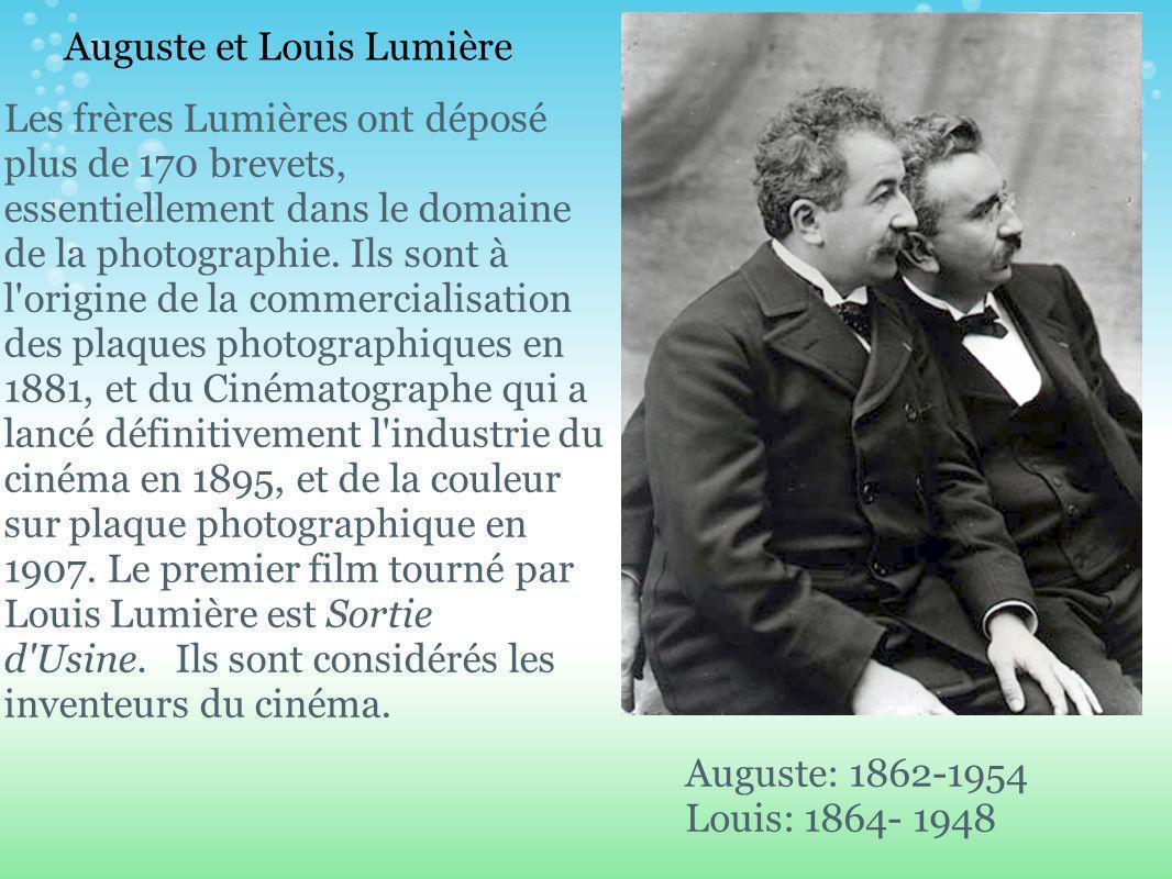 Auguste et Louis Lumière