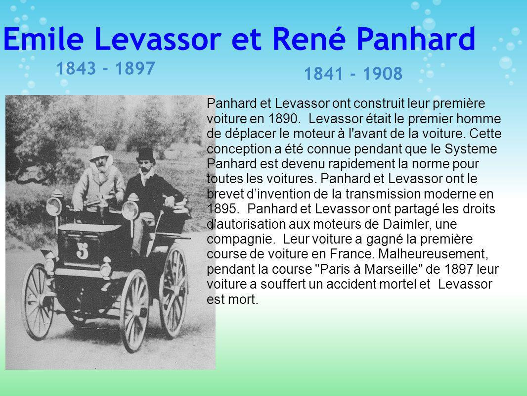 Emile Levassor et René Panhard