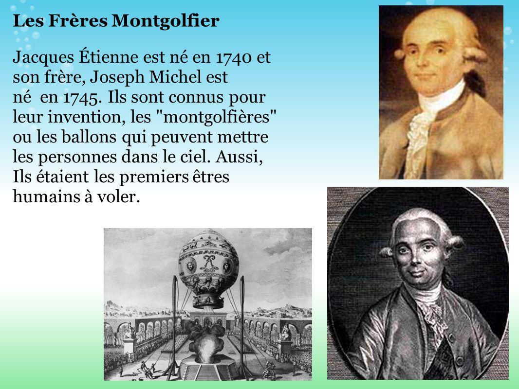 Les Frères Montgolfier