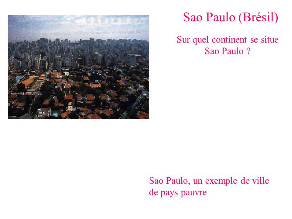 Sur quel continent se situe Sao Paulo