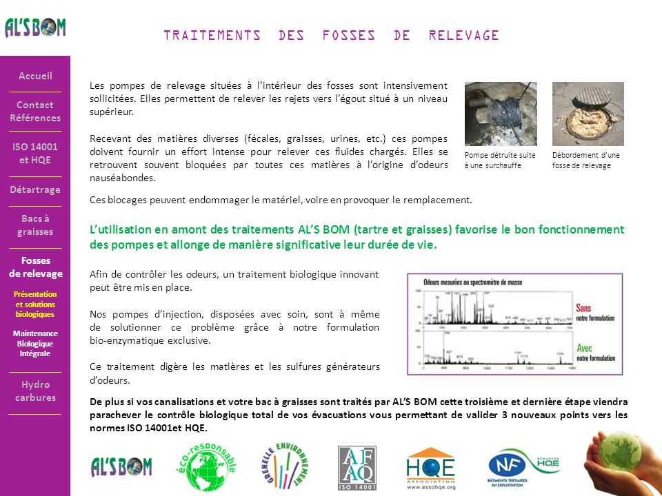 TRAITEMENTS DES FOSSES DE RELEVAGE