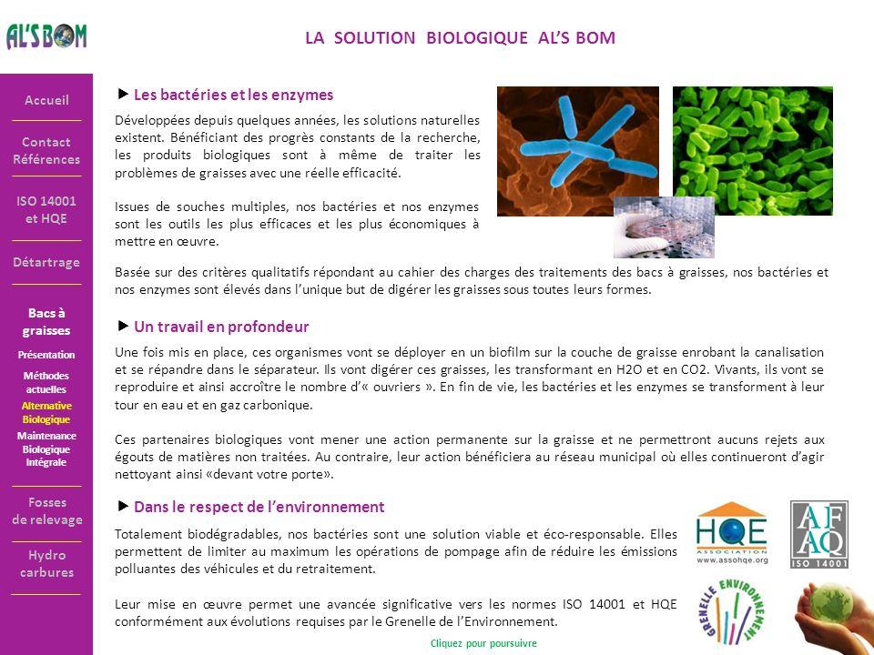 LA SOLUTION BIOLOGIQUE AL'S BOM Cliquez pour poursuivre