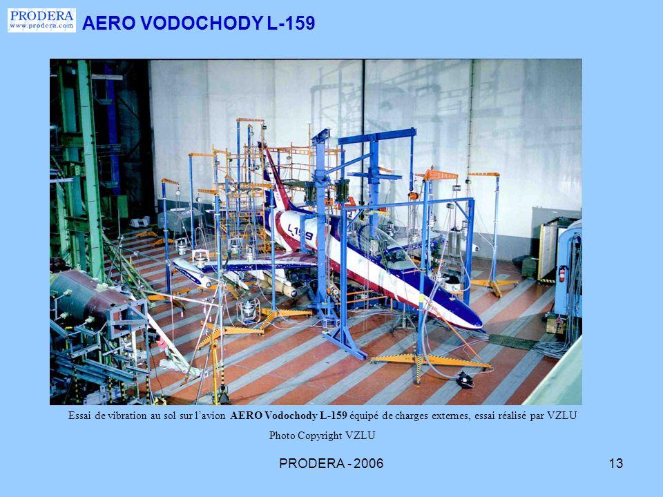 AERO VODOCHODY L-159 PRODERA - 2006