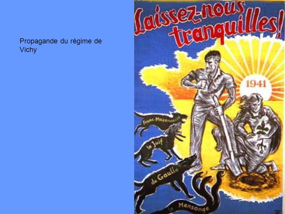 Propagande du régime de Vichy