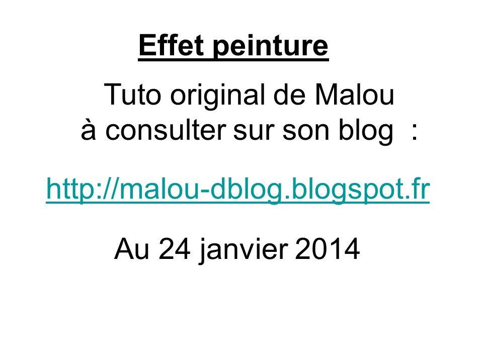 Tuto original de Malou à consulter sur son blog :