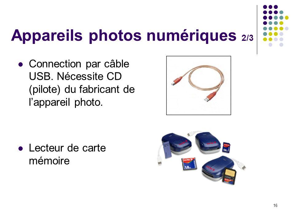 Appareils photos numériques 2/3