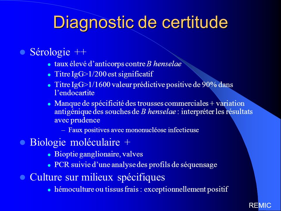 Diagnostic de certitude