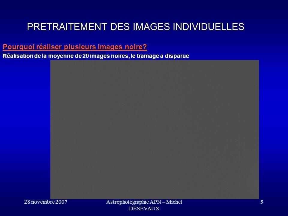 Astrophotographie APN – Michel DESEVAUX