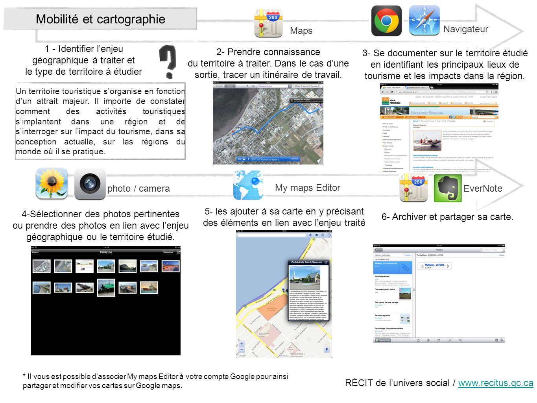 Mobilité et cartographie