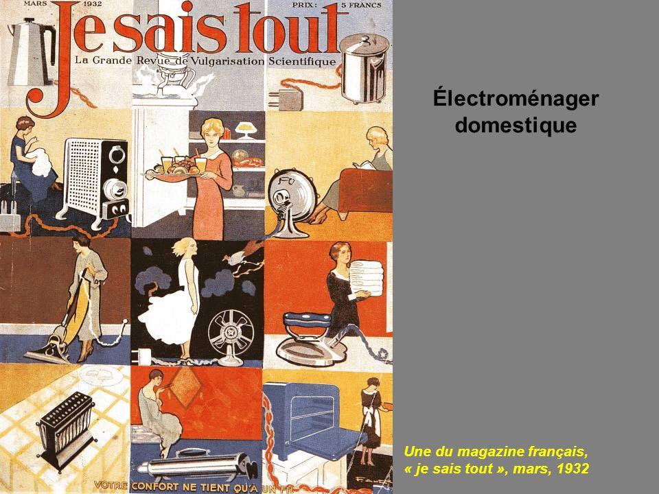 Électroménager domestique