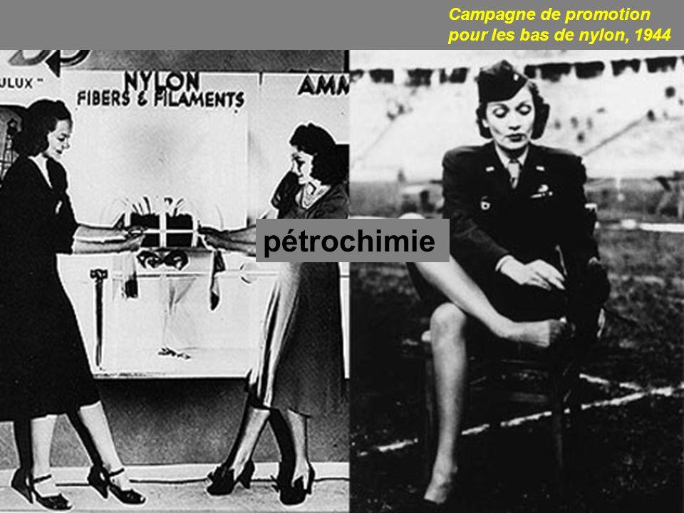 Campagne de promotion pour les bas de nylon, 1944