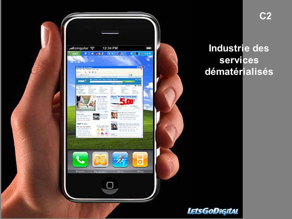Industrie des services dématérialisés