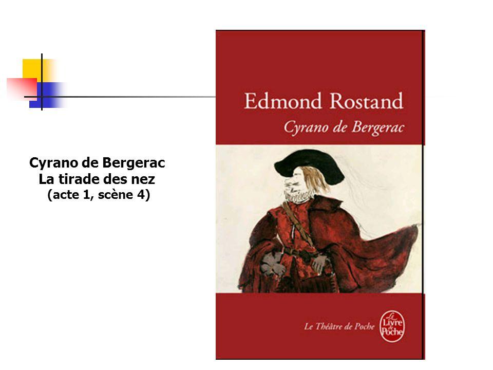 Cyrano de Bergerac La tirade des nez