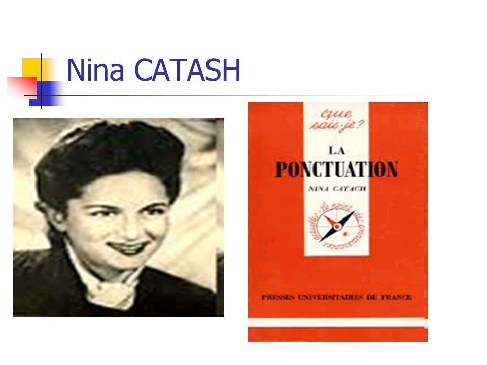 Nina CATASH