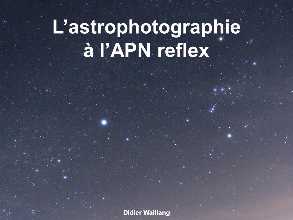 L'astrophotographie à l'APN reflex