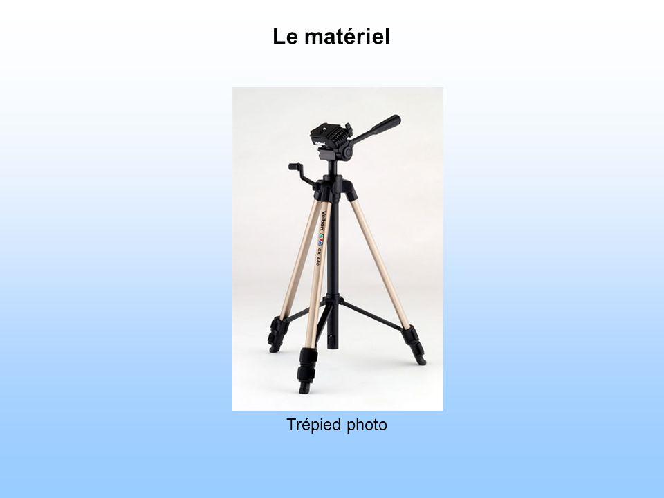 Le matériel Toujours utile pour faire du grand champ Trépied photo