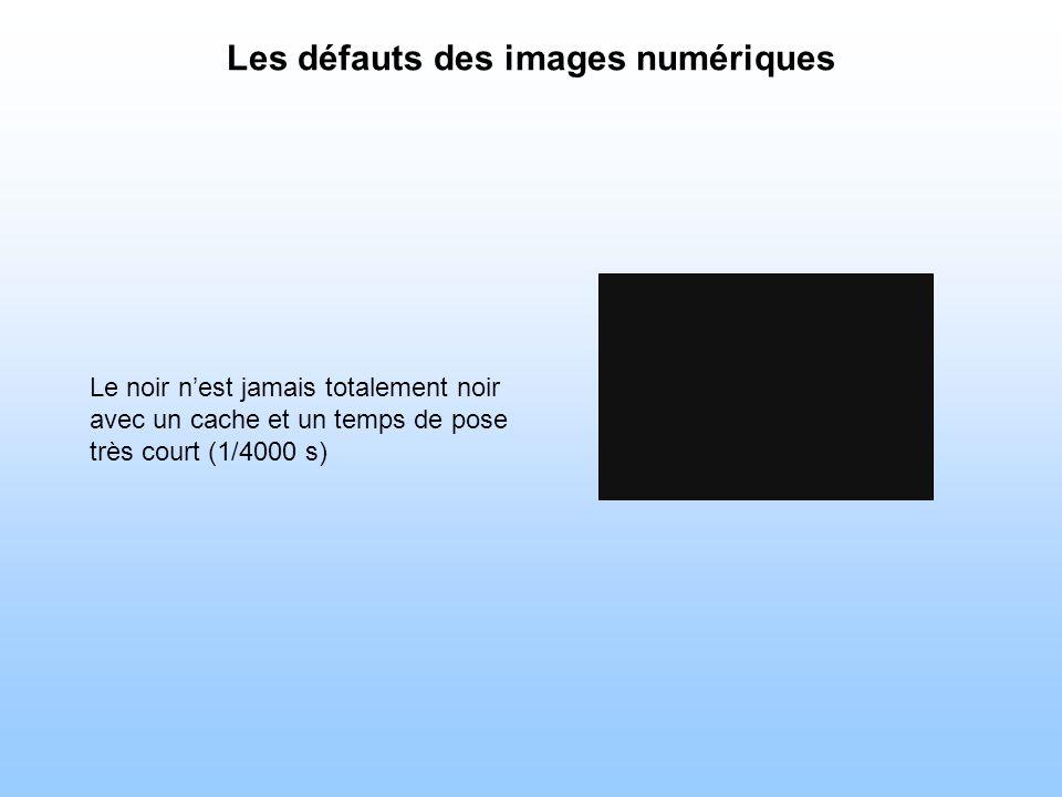 Les défauts des images numériques