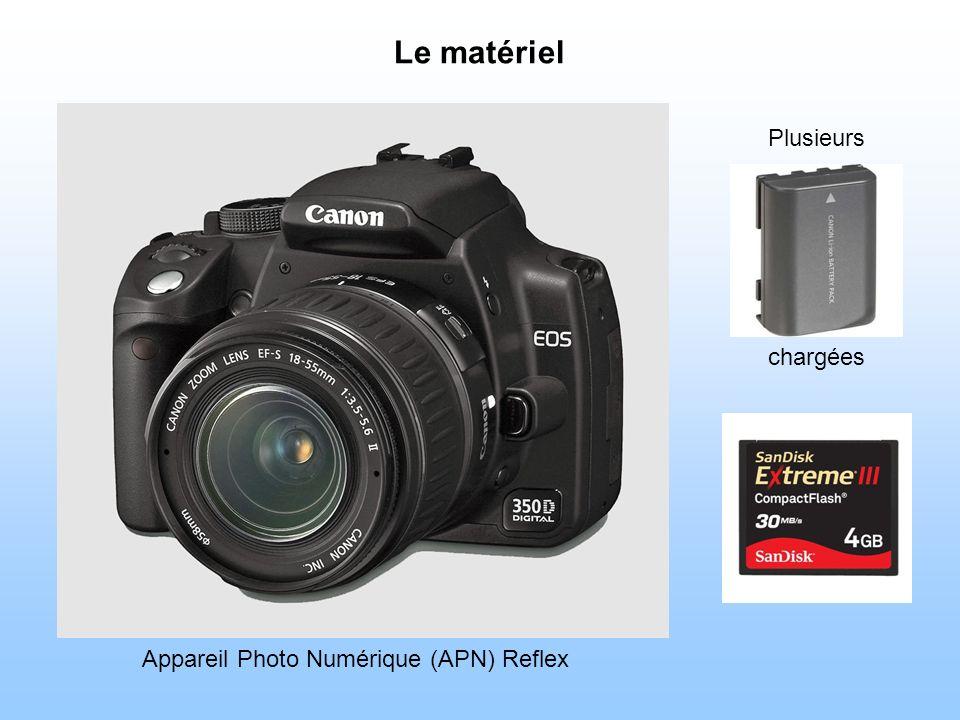 Le matériel Plusieurs chargées Appareil Photo Numérique (APN) Reflex