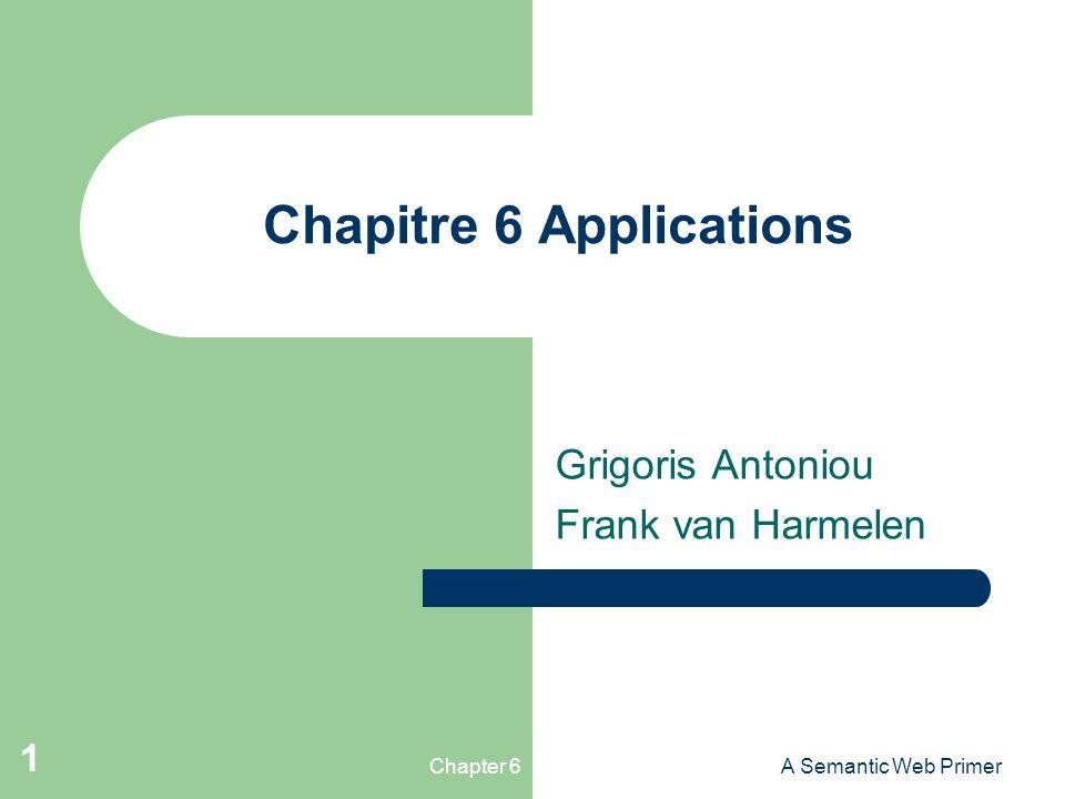 Chapitre 6 Applications