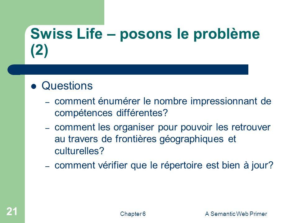 Swiss Life – posons le problème (2)