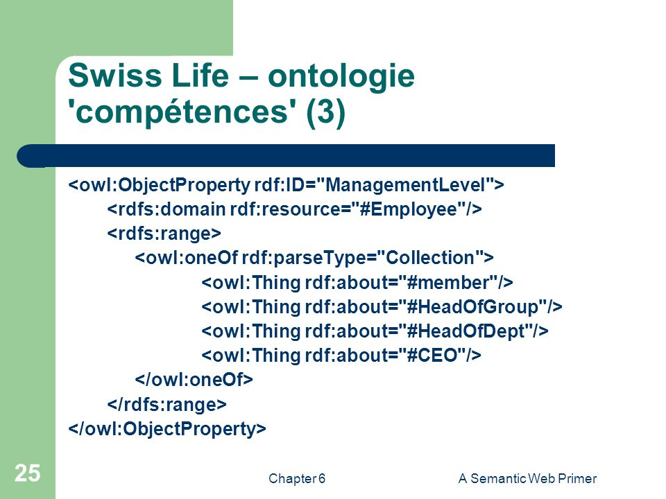 Swiss Life – ontologie compétences (3)