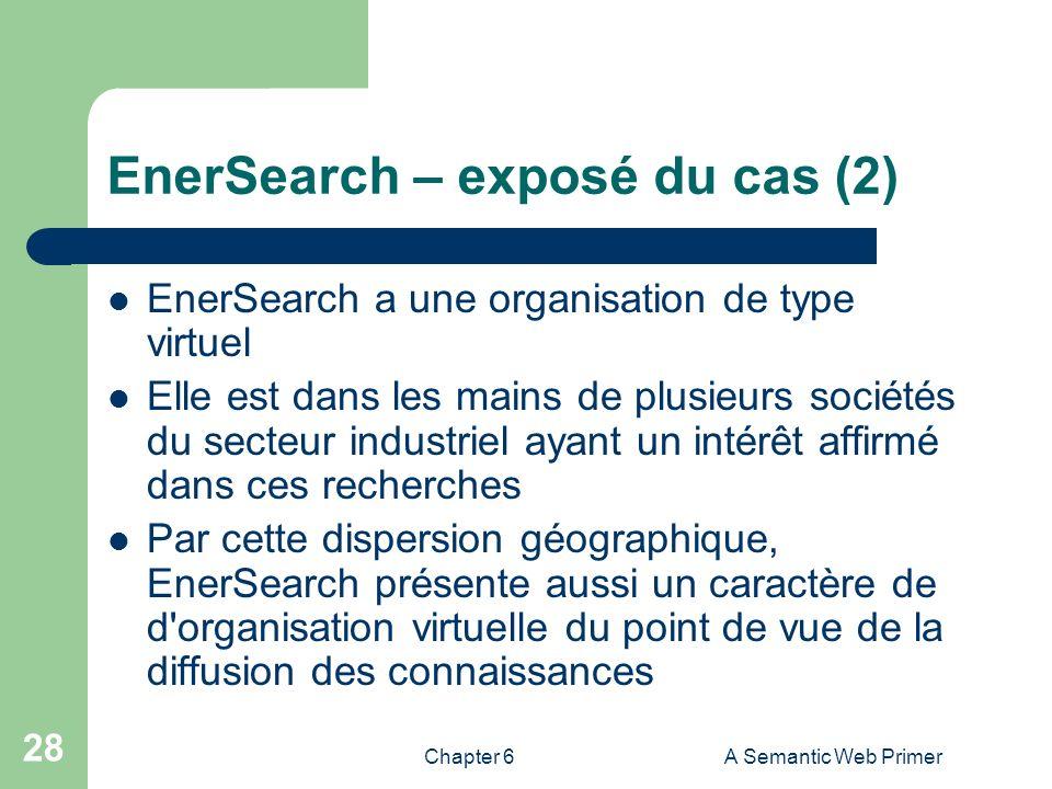 EnerSearch – exposé du cas (2)