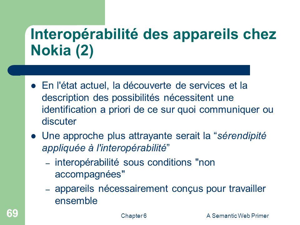 Interopérabilité des appareils chez Nokia (2)