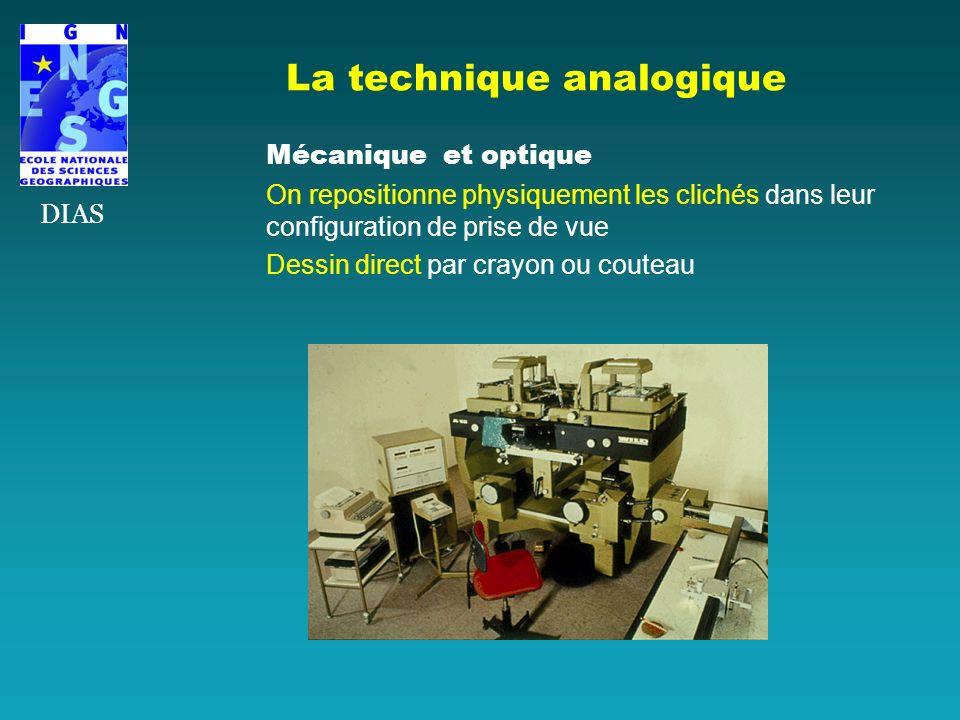 La technique analogique