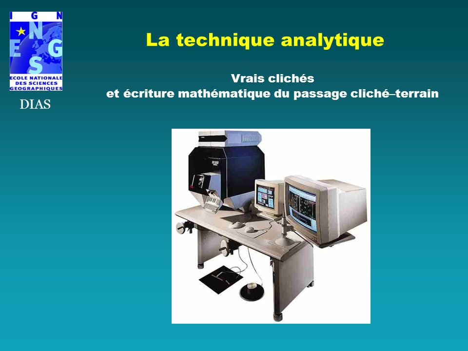 La technique analytique
