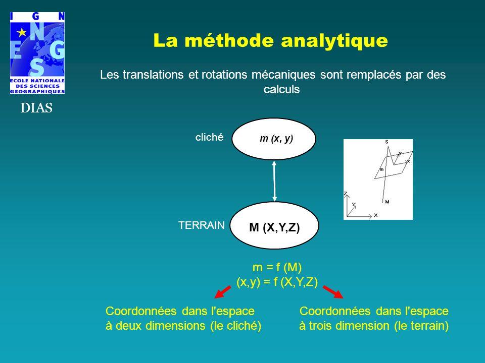 La méthode analytique DIAS