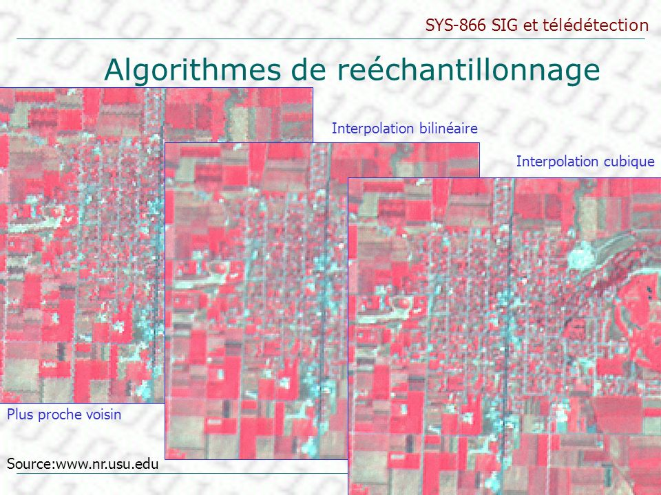 Algorithmes de reéchantillonnage