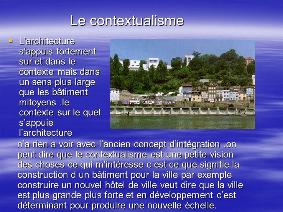 Le contextualisme